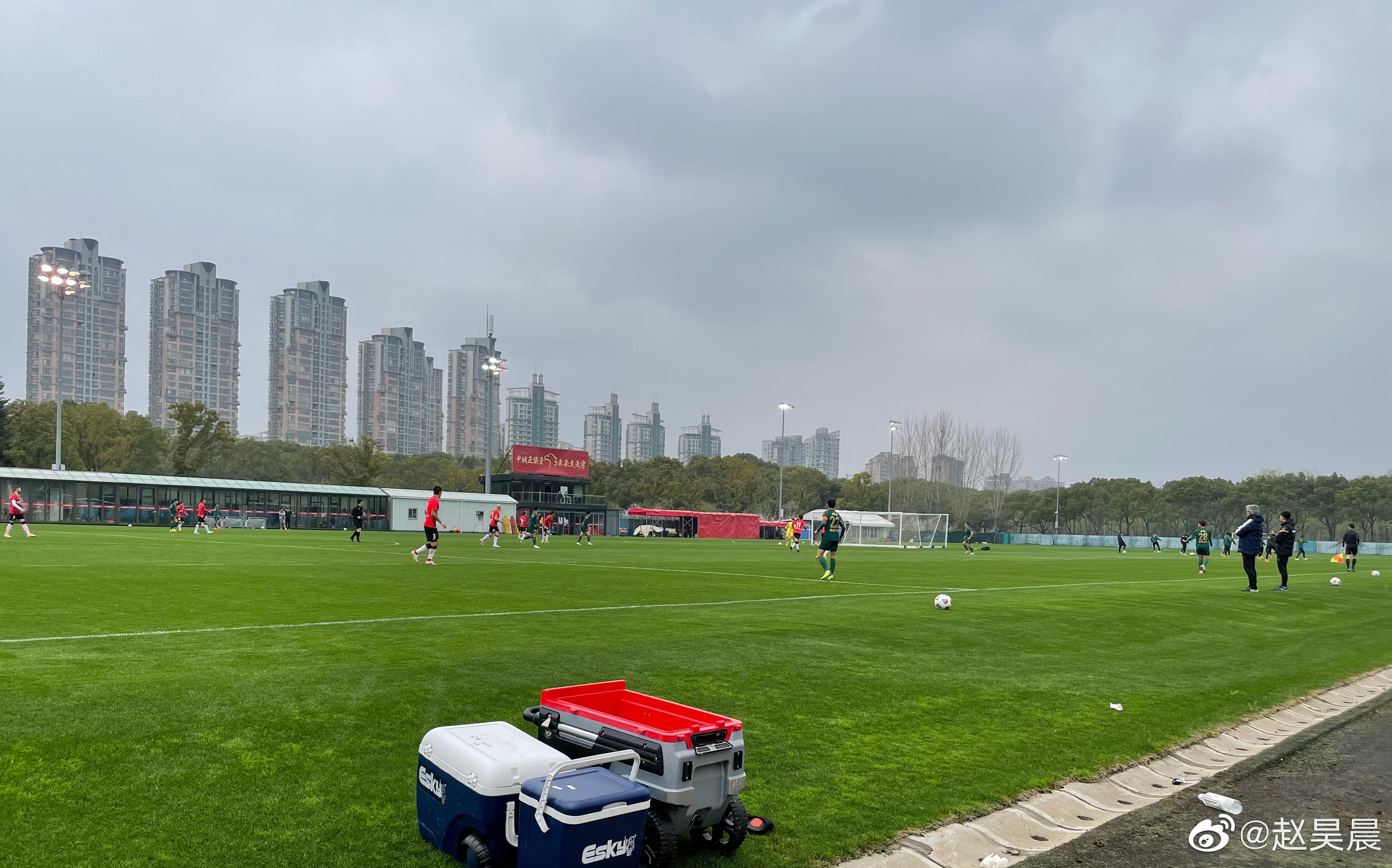热身赛:U23球员聂孟进球,海港1-1战平浙江队
