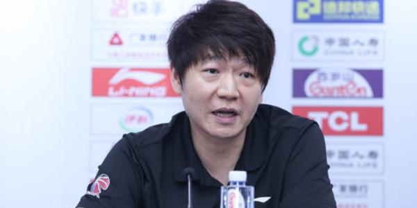 邱彪:沈梓捷违规是我管理不当,执教首赛季收获经验