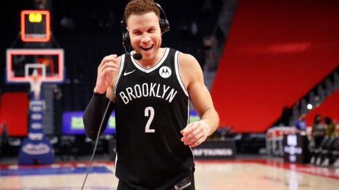 格里芬:从我来到篮网开始,他们就接受了我