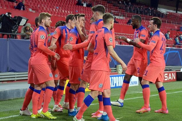 欧冠:芒特低射破门奇尔韦尔建功,切尔西客场2-0波尔图