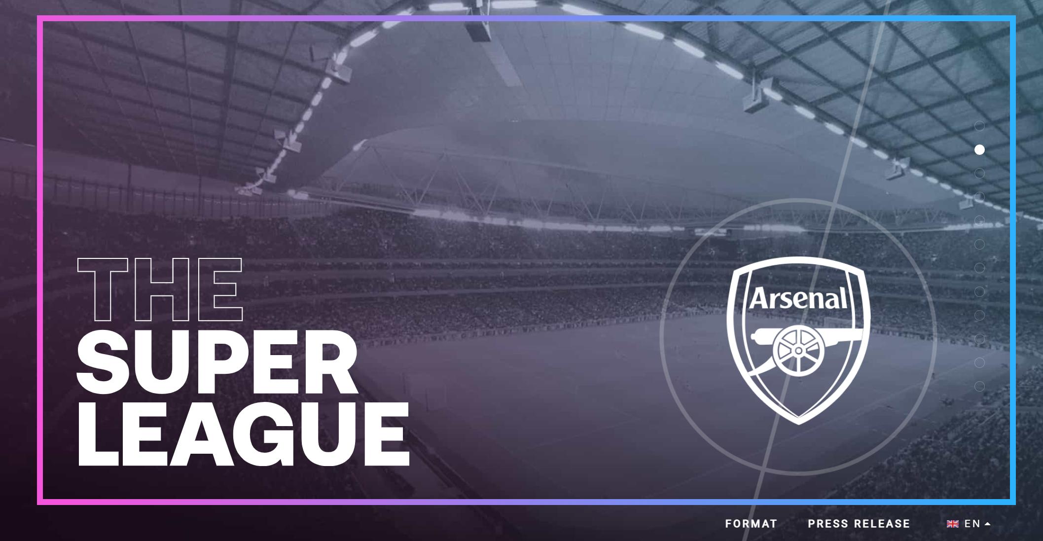 看来是有备而来!欧洲超级联赛官方网站上线