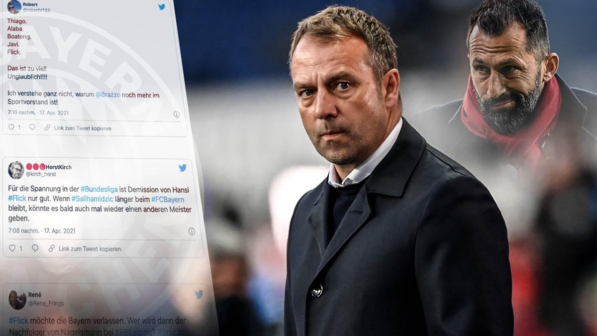 弗里克被逼走人,拜仁球迷悲痛欲绝:萨利毁掉了拜仁!