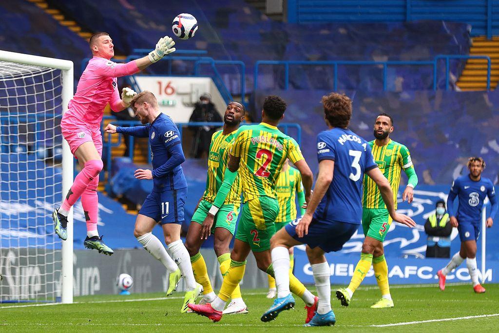 普利西奇芒特破门,十人切尔西2-5西布朗遭图赫尔时期首败