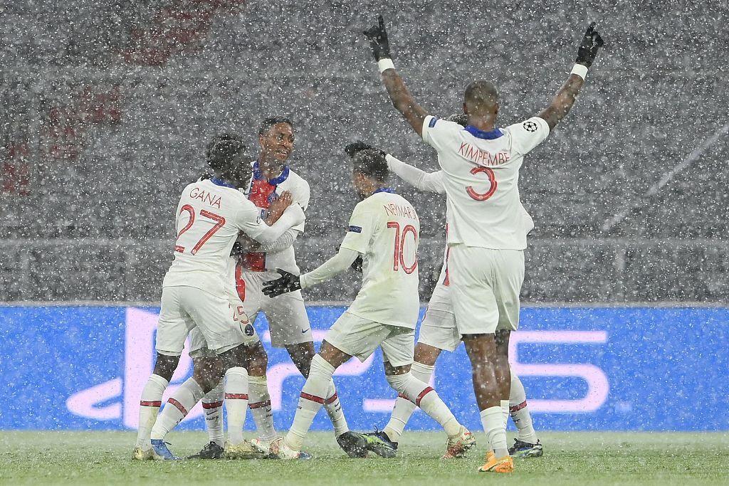 半场:姆巴佩破门舒波莫廷扳回一城,巴黎客场2-1拜仁