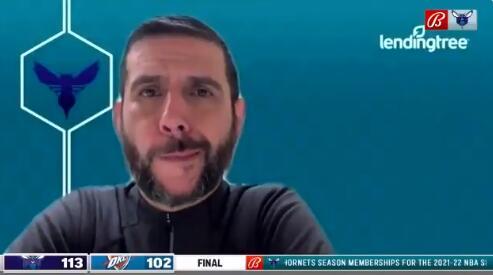 博雷戈:我已经告诉麦克丹尼尔斯,他需要继续这样的表现