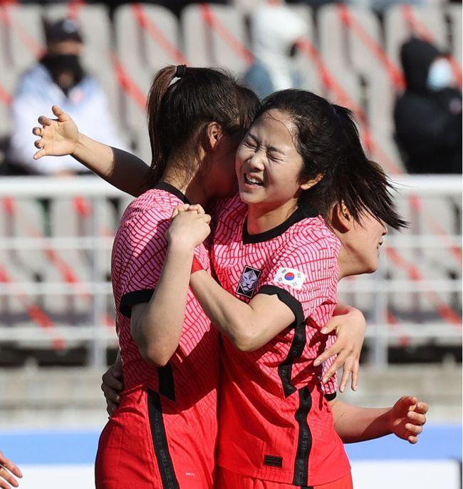 足球报:寄望翻盘,韩国女足或将三海归球员均安排首发