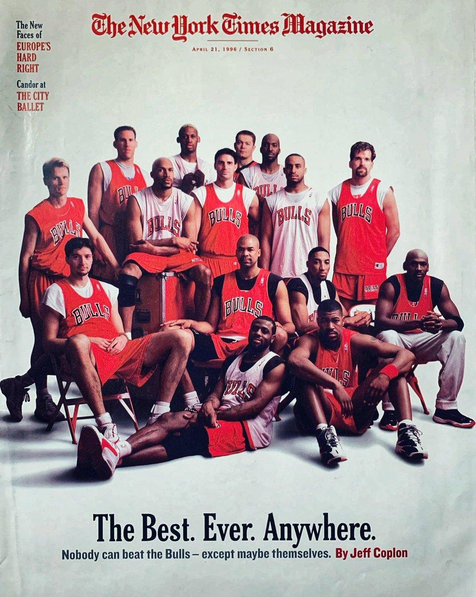 25年前的今天,公牛取得72胜10负的常规赛战绩创下当时纪录