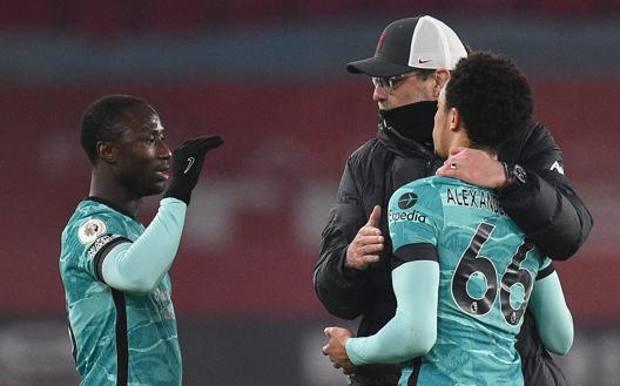 阿诺德和凯塔赛后遭球迷种族歧视,利物浦官方发文强烈谴责