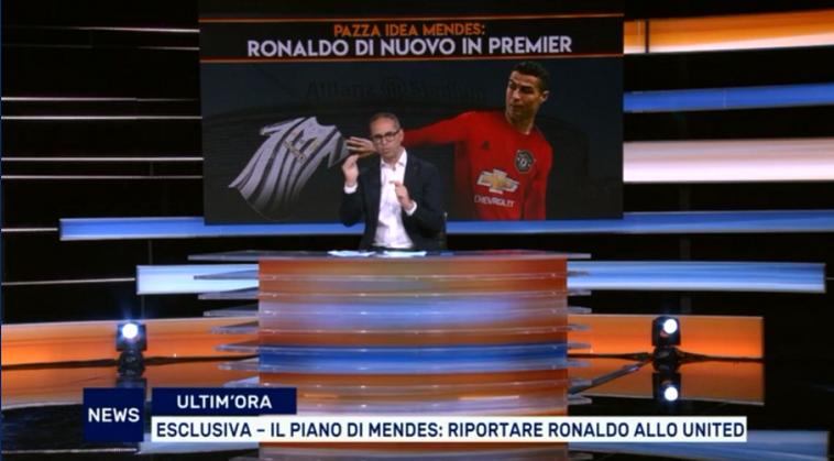 著名记者:如果C罗决定离开尤文,门德斯会努力将他带回曼联