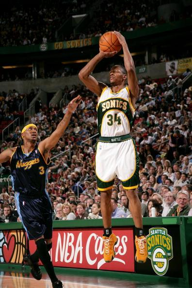 Ray allen shooting sonics
