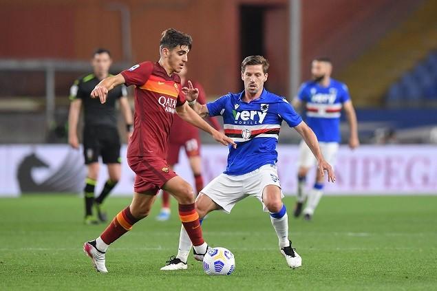 意甲:阿德里安扬克托先后破门哲科失点,罗马客场0-2桑普插图