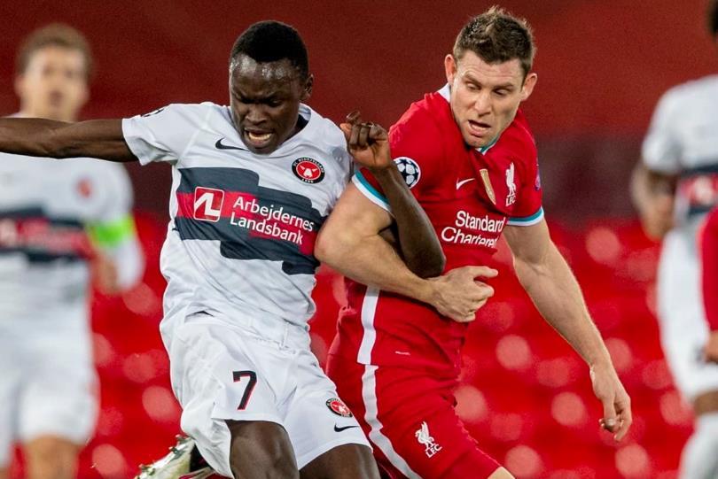 欧足联证实,利物浦与中日德兰的欧冠比赛仍将在丹麦举行