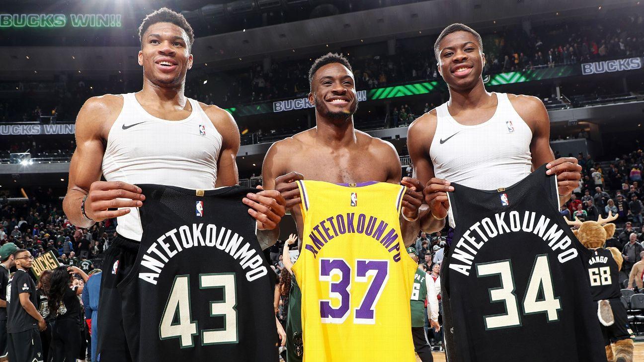字母哥:我弟是NBA冠军,我哥是希腊冠军,我是两届MVP