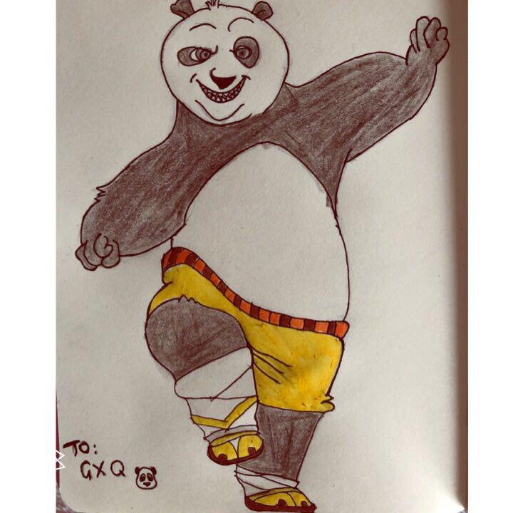 灵活的大熊猫