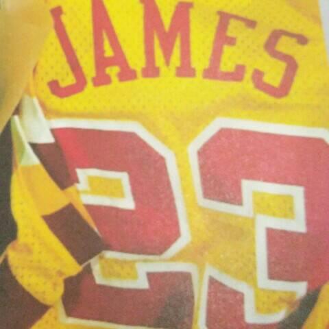 就是喜爱詹姆斯