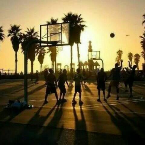爱篮球爱生活爱自己