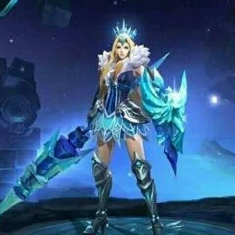 冰冠女神雅典娜