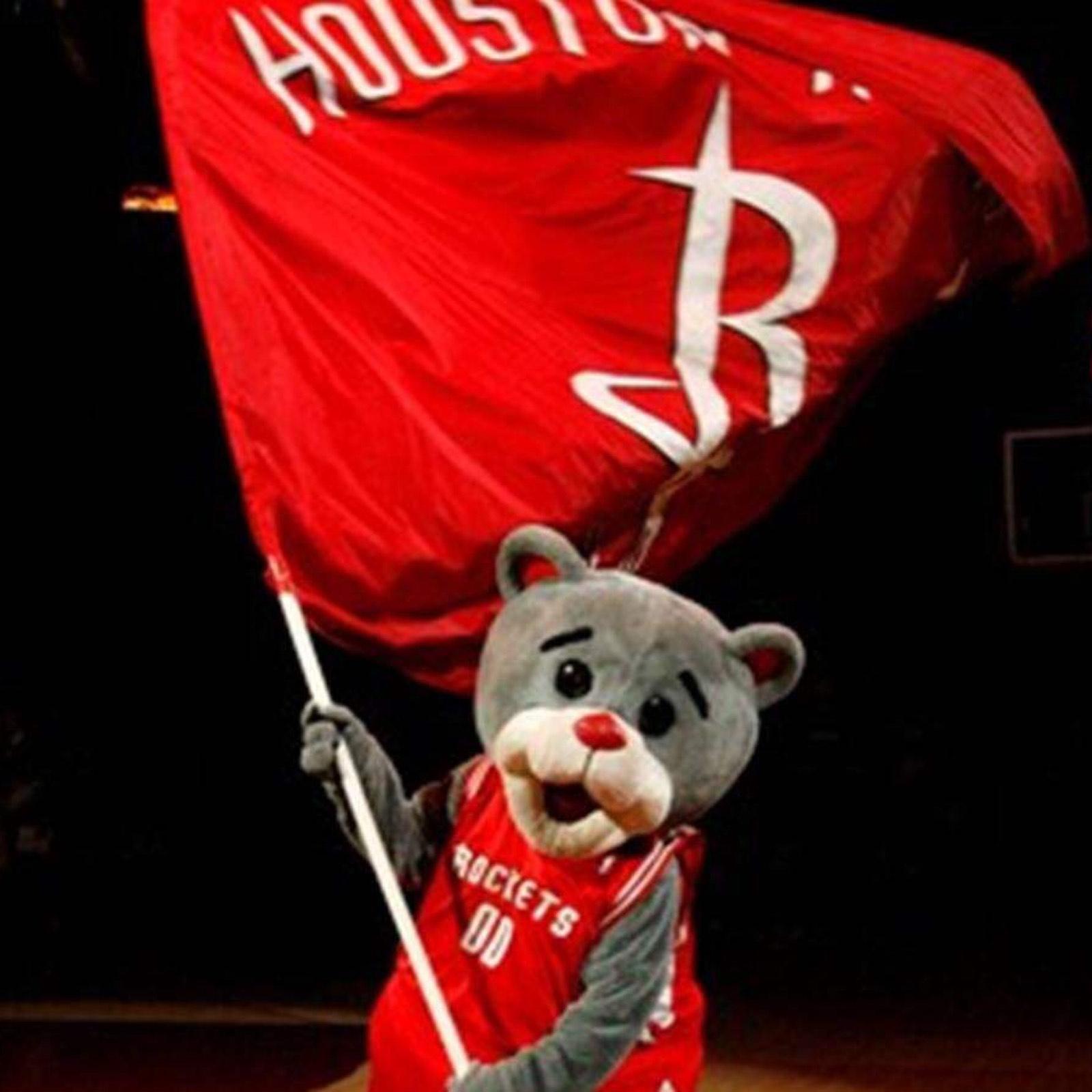 休斯顿吉祥物火箭熊