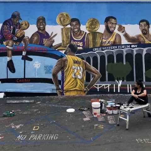Lakers科比窝科