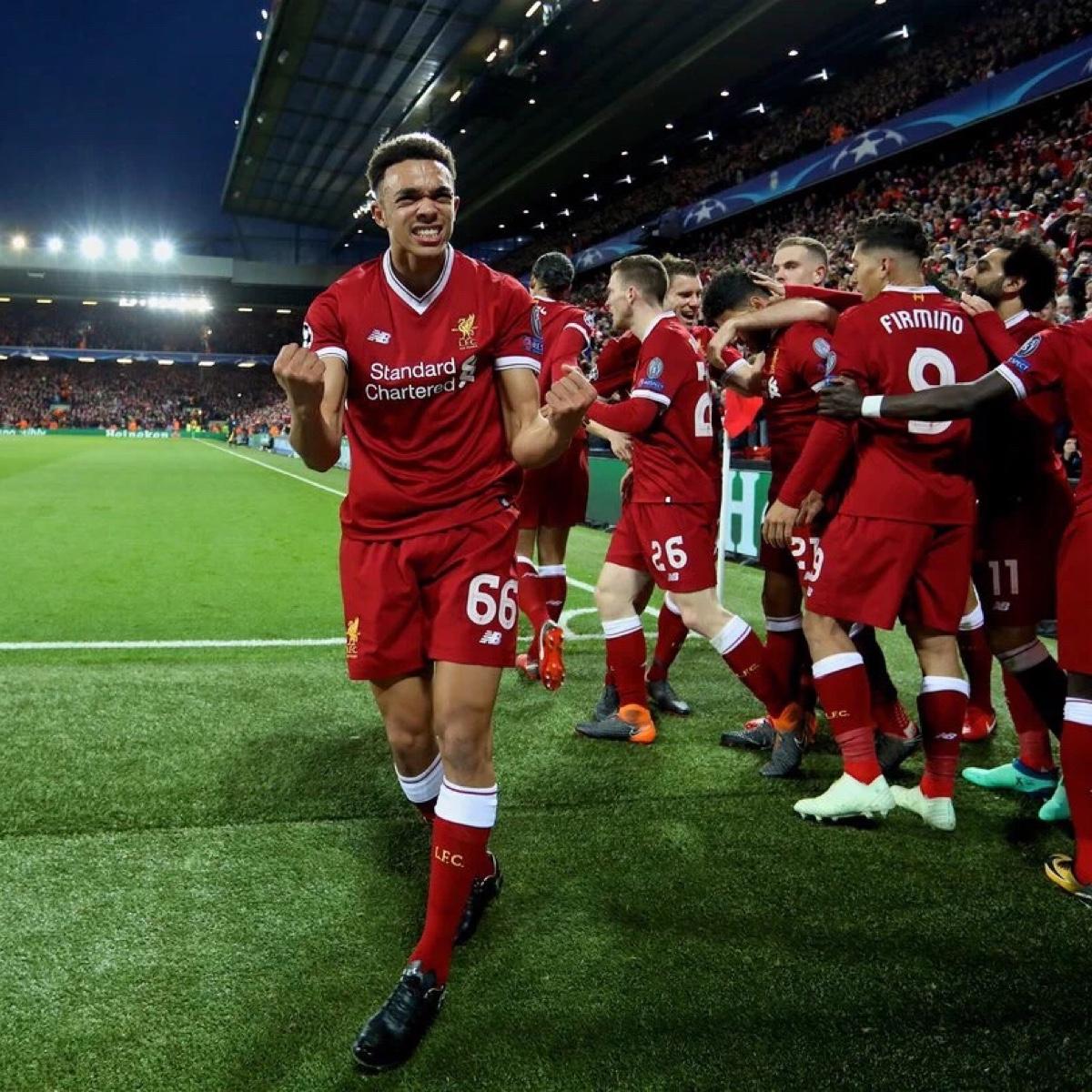 利物浦的冠军奖杯